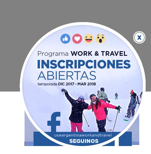 Seguinos en facebook! useargentinaworkandtravel